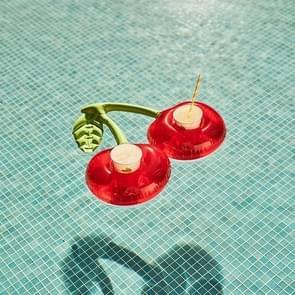 Dubbele Cherry Coaster Cup Houder Opblaasbare Water Cup Houder