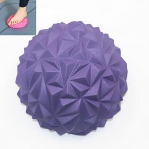 Voetmassage balans training ball fitness yoga bal  grootte: 16 x 8cm (Paars)