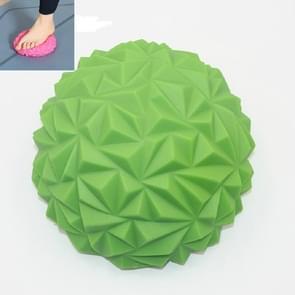 Voetmassage balans training ball fitness yoga bal  grootte: 16 x 8cm (Groen)