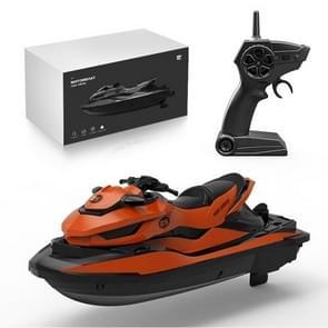 SMRC / M5 Mini Afstandsbediening Boot 2.4G Zomer water Splash Elektrische Motorboot (Oranje)