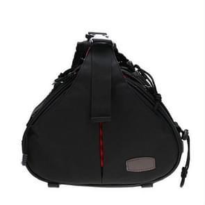 CADeN K1 DSLR camera schouder waterdichte tas met regenhoes (zwart)