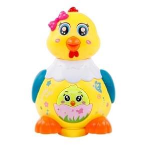 Leuke elektrische duivin leggen eieren voor kinderen leuk spel speelgoed willekeurige kleur levering