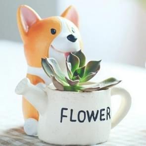 Creatieve bloem pot hars ambachten ornamenten  stijl: Keji tuinman