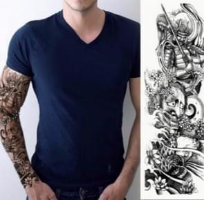 Grote arm mouw waterdichte tijdelijke tattoo sticker (TQB-035)