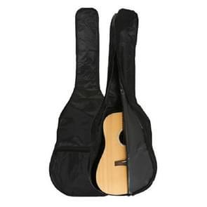 30 inch gitaar waterdichte enkellaags Oxford doek gitaar tas (zwart)
