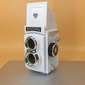 Double Reflex Camera Model Retro Camera Props Decoraties Handheld Camera Model (Wit (Origineel))
