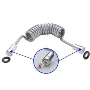 PU kunststof plating nozzle voorjaar buis wasmachine kleine nozzle slang  stijl: 2m lang