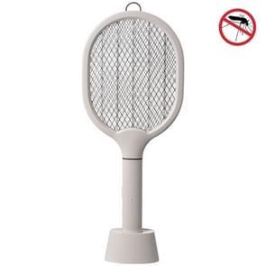 Huishouden Draagbare Indoor Mosquito aantrekken LED Opladen Mosquito Killing Lamp (Grijs)