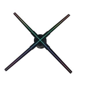 56CM KY-4 WIFI Holografische 3D-ventilatorvorm LED-reclamemachine  resolutie: 1024 x 638 pixels  stekkertype:UK-stekker