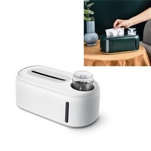 Bevochtigende tissue box creative wet en droog weefsel doos  kleur: Puur wit grijze bodem