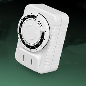 2 PCS ChangXin Electric Vehicle Timer Charger Mechanical Timer Socket Countdown Off Timer Socket (CX-05 110V)