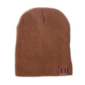 Winter hoed baby zachte warme muts Cap (roest)