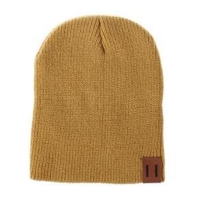 Winter hoed baby zachte warme muts Cap (geel)
