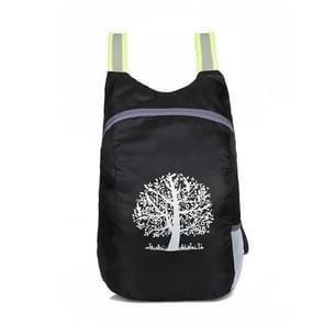 20L opvouwbare rugzak wandelen Camping Bag Ultra lichte buiten Sport waterdichte reizen Backpack(Black)
