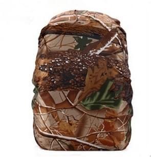Waterdichte stofdicht rugzak Rain Cover draagbare ultralichte buiten Tools wandelen beschermhoes 50-60L (Forest Camouflage)