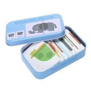 Grafiek Match Game vroege educatieve Montessori speelgoed puzzelkaart cartoon voertuig Animal fruit pair matching game