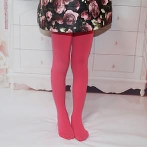 Lente zomer herfst effen kleur panty ballet dans Panty's voor kinderen (watermeloen rood)
