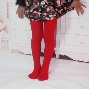 Lente zomer herfst effen kleur panty ballet dans Panty's voor kinderen (Grand Red)