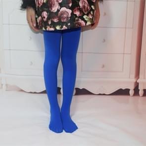 Lente zomer herfst effen kleur panty ballet dans Panty's voor kinderen (Sapphire)