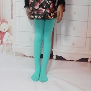 Lente zomer herfst effen kleur panty ballet dans Panty's voor kinderen (Emerald-groen)