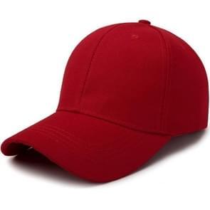 Outdoor Sun Hat wild ademend Hat voorjaar zomer Baseballpet casual sport GLB (rood)