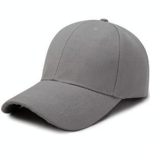 Buiten Sun Hat Wild ademend Hat voorjaar zomer Baseball Cap Casual Sport Cap(light grey)
