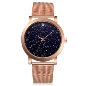 Lvpai P381 Starry Steel Quartz Watch for Women