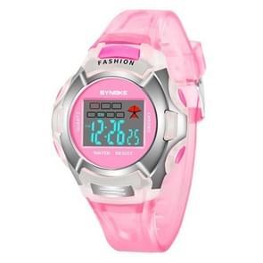 SYNOKE 99329 waterdicht lichtgevende sport elektronische horloge voor kinderen (roze)