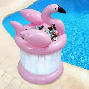 PVC Opblaasbare Flamingo Shape Water Coaster Drink Cup Holder Ice Bucket
