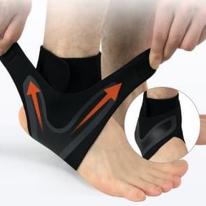 2 PC's Sport Ankle Support elastische hoge bescherming sport enkel apparatuur veiligheid uitgevoerd basketbal Ankle Brace ondersteuning  Size:M(Right)