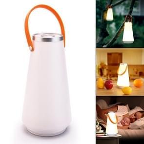 Draagbare Touch switch oplaadbare LED tafel lamp buiten Camping Emergency Nachtlampje met handvat