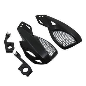 24CM motorfiets handguard hand Guard Protector voor Kawasaki Suzuki Honda Yamaha Moto Dirt Bike ATV'S met Mount Kit (zwart)