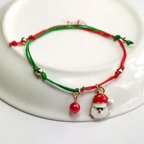 10 PCS Kerst hand-gebreide armband kerstcadeaus  stijl: oude man