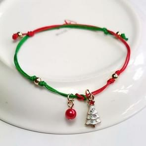 10 PCS Kerst handgebreide armband kerstcadeaus  stijl: kerstboom