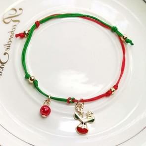 10 PCS kerst hand-gebreide armband kerstcadeaus  stijl: Elanden 2