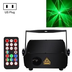 LA-150RGY 12W Bar KTV Laser Projection Laser Stage Light  Specificatie: Amerikaanse stekker
