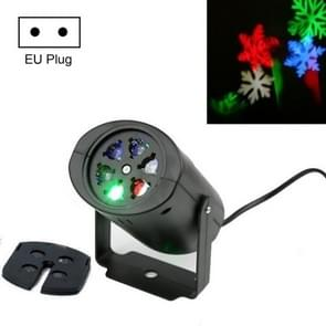 MGY-072 4W Outdoor Waterproof LED Snowflake Projection Light Christmas Effect Stage Lighting  Specificatie: EU Plug