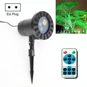 30W Afstandsbediening Outdoor Waterproof Laser Light Garden Decoratie Gazon lamp  Groen Licht + Rood licht (EU Plug)