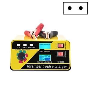KD-908D loodzuur batterij intelligent reparatie lader auto acculader EU-stekker