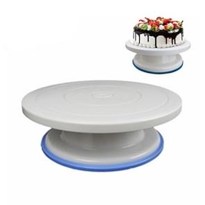 Bakken gereedschap plastic spatel antislip rand cake versieren draaitafel (anti-slip kant draaitafel)