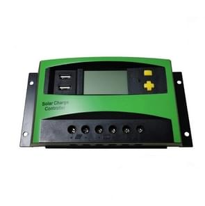 30A 12V/24V AUTO PWM Solar Charge Controller USB Output Zonne-controller