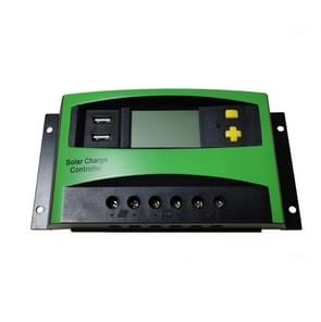 40A 12V/24V AUTO PWM Solar Charge Controller USB Output Zonne-controller