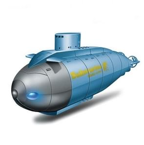 Kinderen 2.4G elektrische zes-weg mini onderzeeër model jongen spelen in water afstandsbediening boot nucleaire onderzeeër (blauw)