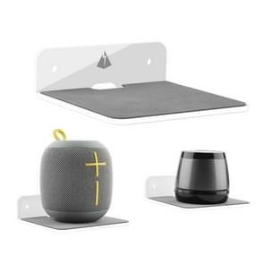 Bluetooth Speaker Wall Storage Bracket Bedside Speaker Phone Charging Bracket (Transparant)
