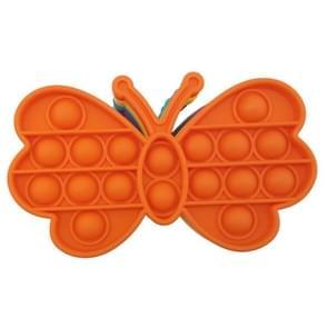 3 PCS Siliconen Pressing Desktop Educational Toys Mental Arithmetic Training  Random Color Delivery(Butterfly)