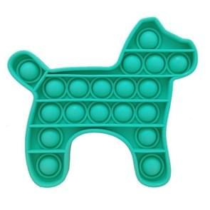 3 PCS Siliconen Pressing Desktop Educational Toys Mental Arithmetic Training  Random Color Delivery (Puppy)