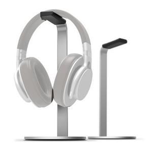 Aluminiumlegering hoofdtelefoonhouder H-Stand Hoofdtelefoon Display Stand Hoofdtelefoon Opslag Rack (Zilver)