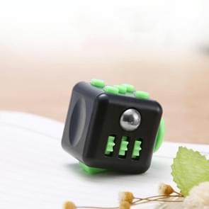 3 STUKS Decompressie Cube Toy Adult Decompressie Dobbelstenen  Kleur: Zwart+Groen