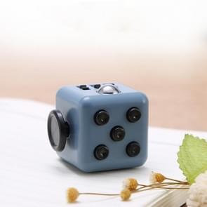 3 STUKS Decompressie Cube Toy Adult Decompressie Dobbelstenen  Kleur: Donkergrijs