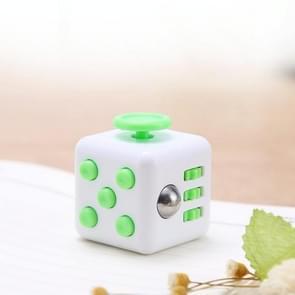 3 STUKS Decompressie Cube Toy Adult Decompressie Dobbelstenen  Kleur: Wit+Groen
